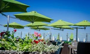 paraflex-green-sidepost-parasols